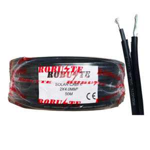 Cable solaire 6mm²x2 ''ROBUSTE'' 25M
