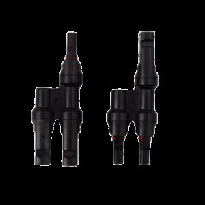 Paire connecteurs MC4 en Y M/F pour photovoltaique