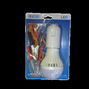 AMPOULE LED 12V E27 5W AVEC PINCE