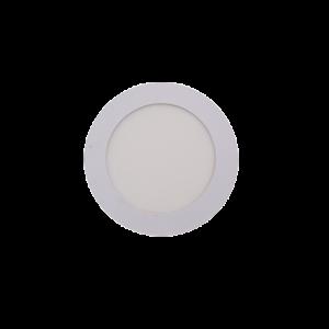 LED PANEL LUMINEUX ENCASTRE ROND 15W