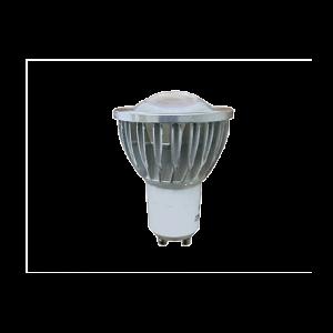 SPOT LED GU10 5W 220V CHROME