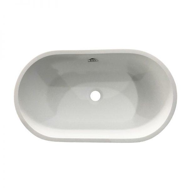 Vasque acrylique ovale à poser