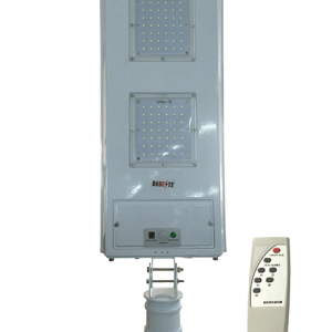 LAMPADAIRE MURAL SOLAIRE LED AVEC DETECTEUR+TELECOMMANDE