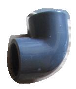 COUDE PVC GRIS 25MM F/F PN16