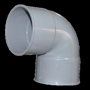 COUDE PVC GRIS 10MM F/F 90° KMEI