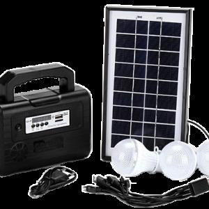 Kit solaire portable complet avec panneau 3.5W