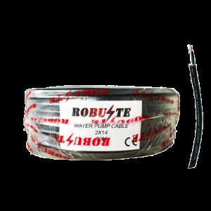 Cable éléctrique pour pompe immergée 2x1,4mm² ''ROBUSTE''