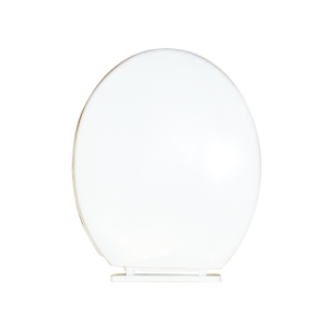 ABATTANT WC COMPLET SIMPLE BLANC