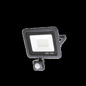 PROJECTEUR LED SLIM EXTERIEUR +DETECTEUR 30W IP66