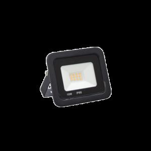 PROJECTEUR LED SLIM EXTERIEUR JAUNE 10W IP66